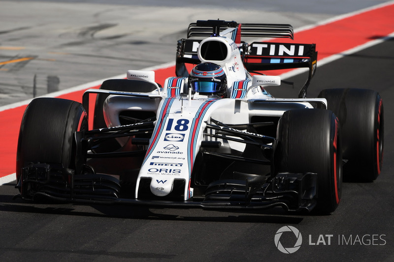 12. Lance Stroll, Williams FW40