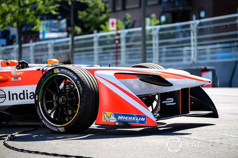 Coche de Felix Rosenqvist, Mahindra Racing