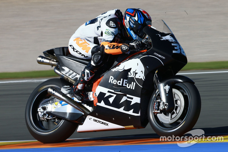 Bradley Smith Red Bull KTM Factory Racing at Valencia November