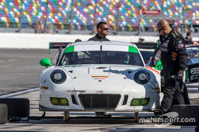 IMSA-Test in Daytona, November