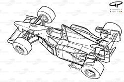 Benetton B195 1995 overview