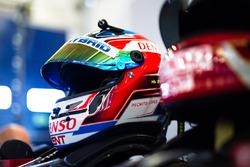 Helm von Jose Maria Lopez, Toyota Gazoo Racing