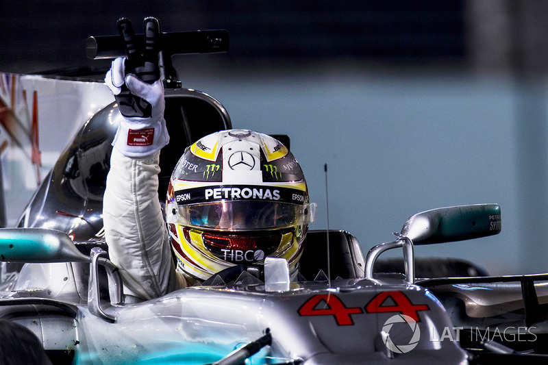 Singapore GP - Winner: Lewis Hamilton