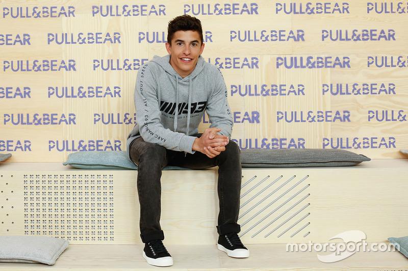 Marc Marquez im Outfit von Pull & Bear
