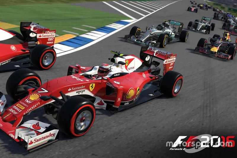 Captura de pantalla del Fórmula 1 2016