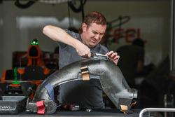 Baquet d'une McLaren MCL32