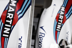 Логотип Martini на кожухе двигателя Williams