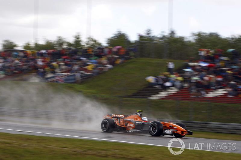 Markus Winkelhock, Spyker F8-VII Ferrari
