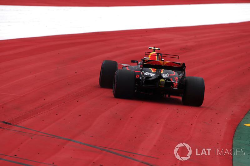 Fahrfehler: Max Verstappen, Red Bull Racing RB13
