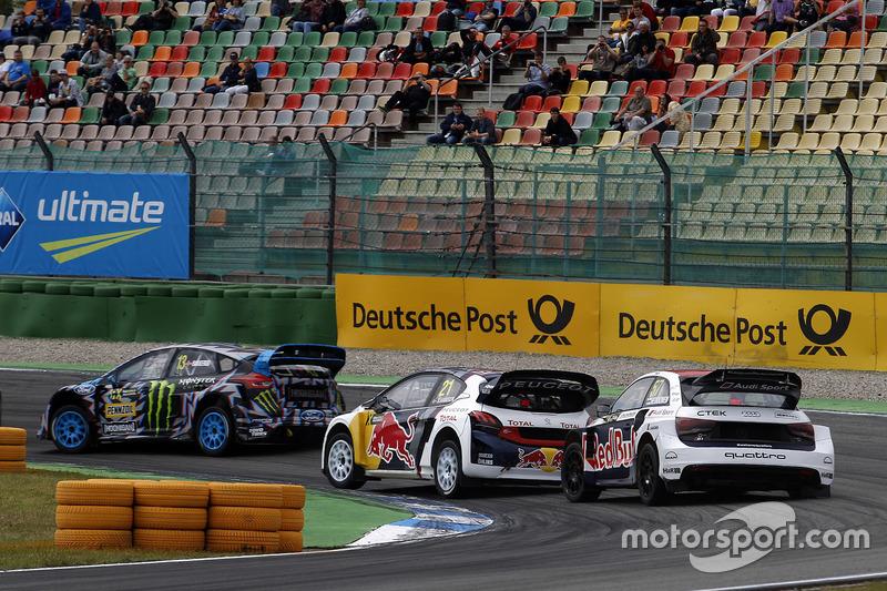 Toomas Heikkinen, EKS, Audi S1 EKS RX Quattro, Timmy Hansen, Team Peugeot-Hansen, Peugeot 208 WRX, A
