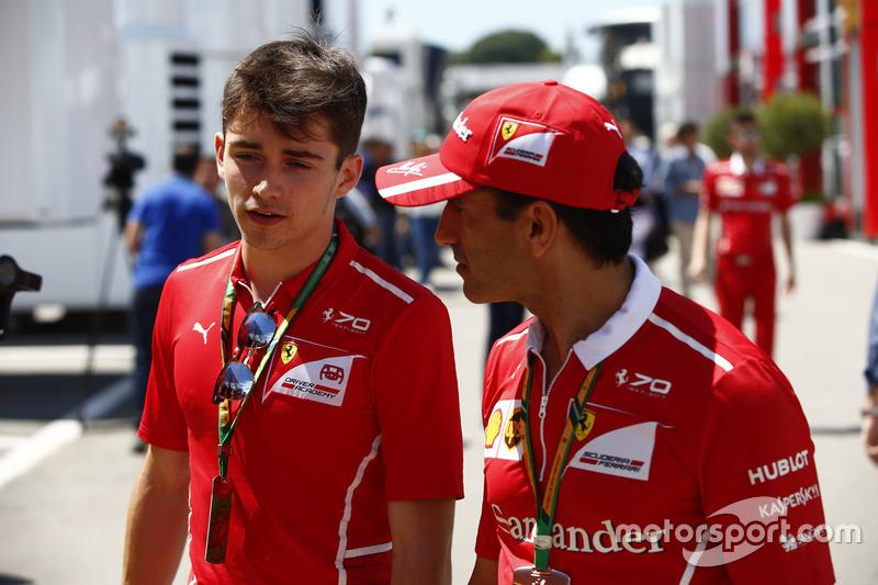 Charles Leclerc, Marc Gene, Ferrari