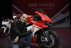 Claudio Domenicali, Vorstandschef  Ducati mit der 1299 Superleggera