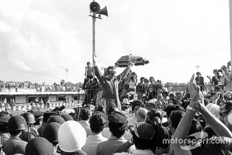 Ganador de la carrera, Jody Scheckter, Wolf Ford