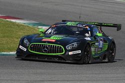 #38 MS Racing, Mercedes AMG GT3: Alexander Hrachowina, Edward Lewis Brauner, Martin Konrad, Zeljko Drmic