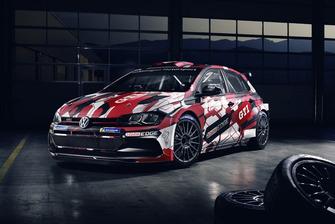 Decoración del VW Polo GTI R5