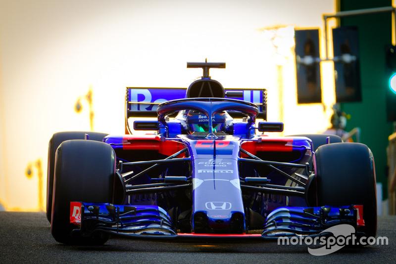 Brendon Hartley, Scuderia Toro Rosso Honda