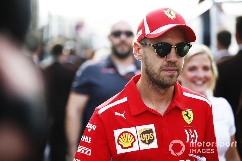 3. Себастьян Феттель, Ferrari – 105 очков (позиция не изменилась)