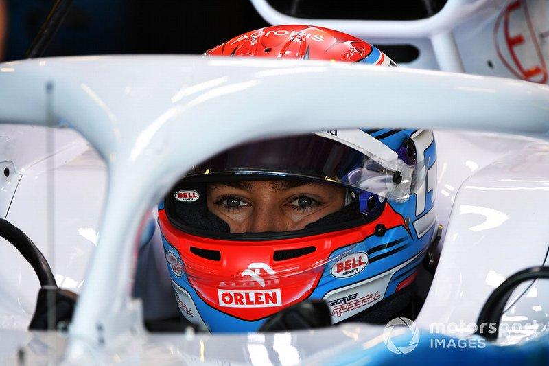Джордж Рассел, Williams Racing
