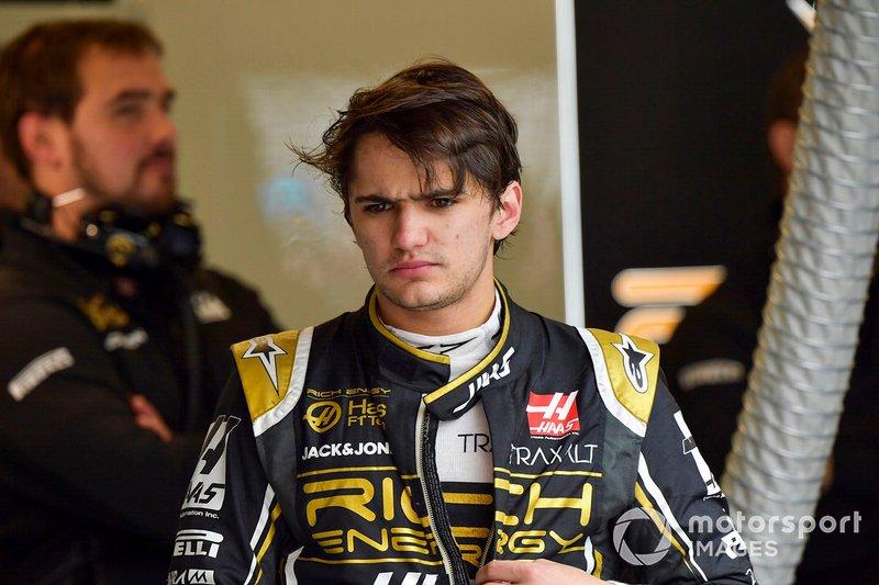 Pietro Fittipaldi, test and development driver, Haas F1 Team