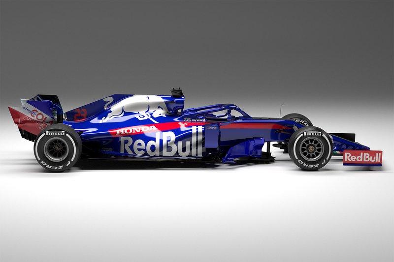 2019. Toro Rosso STR14 Honda