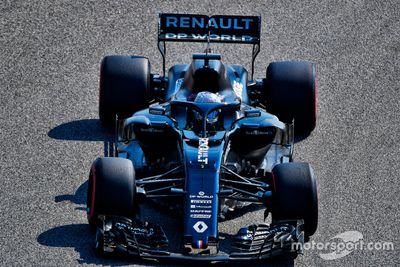 Test Alonso con Renault Bahrain