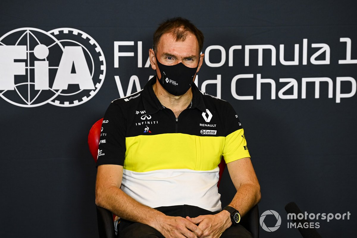 Alan Permane, Sporting Director, Renault Sport F1 Team, in a Press Conference