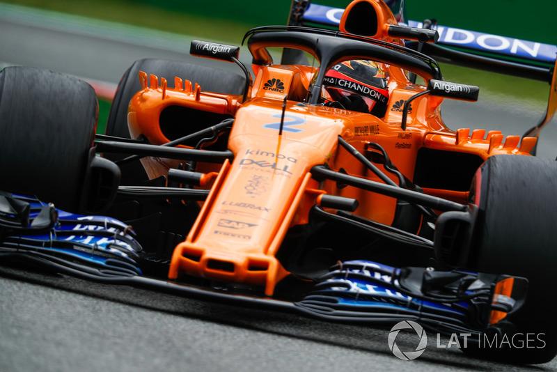 17. Stoffel Vandoorne, McLaren MCL33.