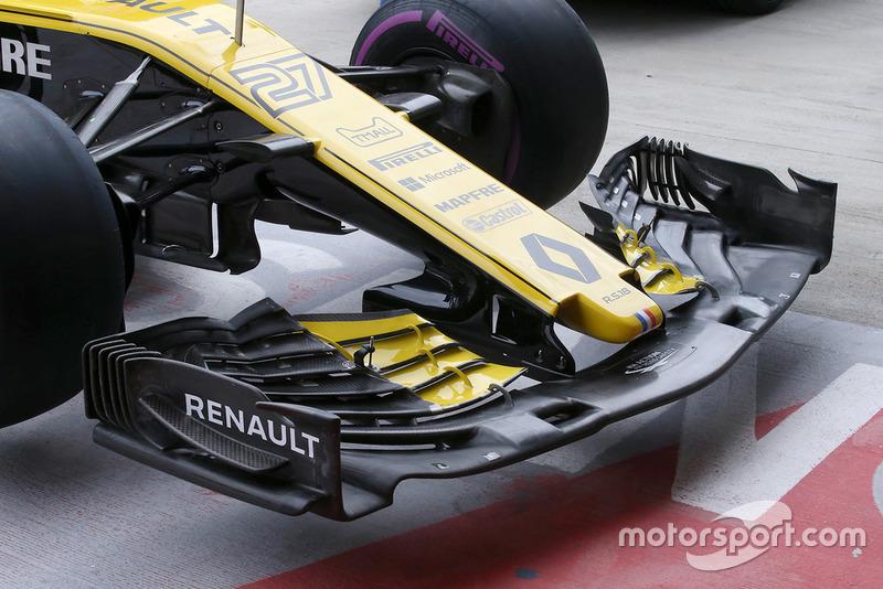 Renault Sport F1 Team R.S. 18, переднє антикрило