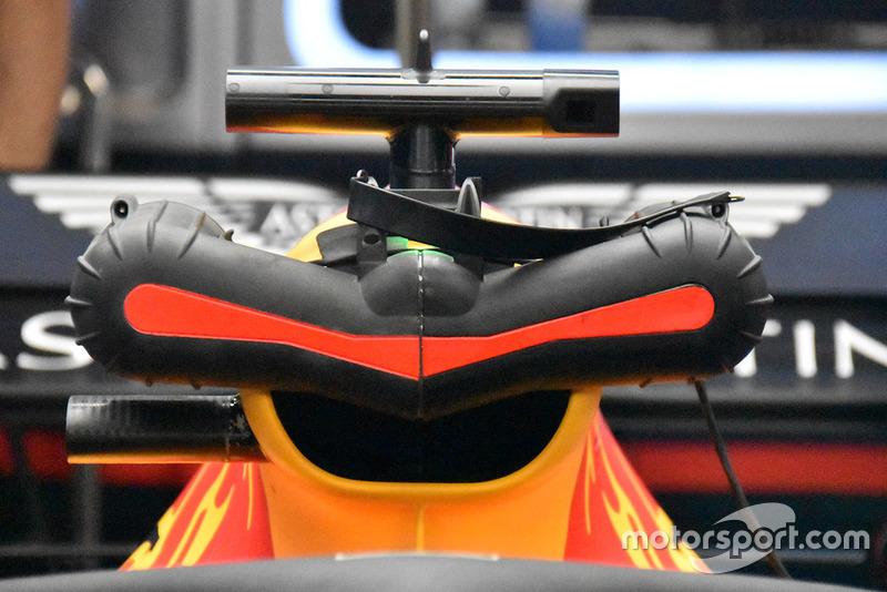 Pendingin mesin Red Bull Racing