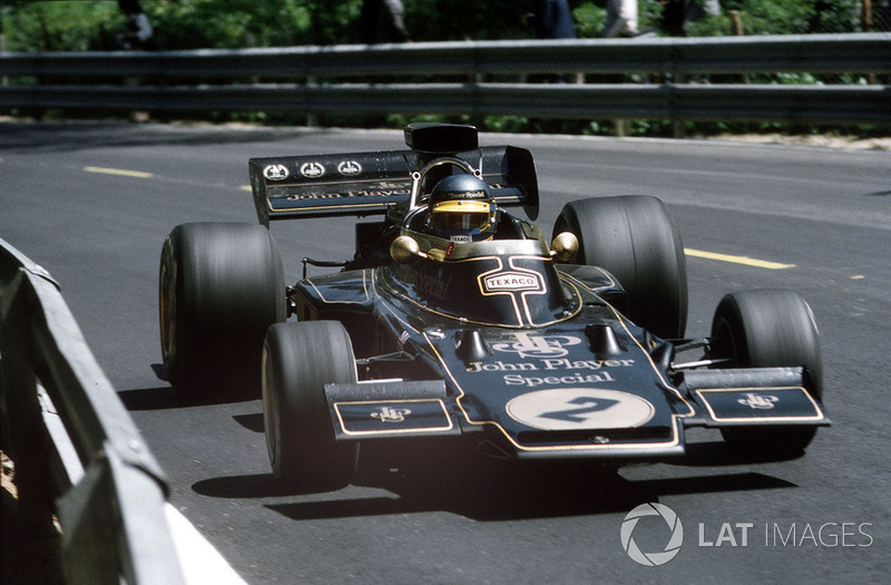 Ronnie Peterson, Lotus 72 Ford
