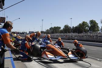 Пит-стоп: Скотт Диксон, Chip Ganassi Racing Honda