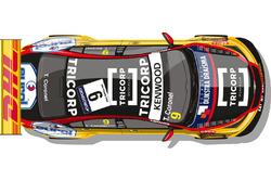 Раскраска Chevrolet RML Cruze TC1 Тома Коронеля
