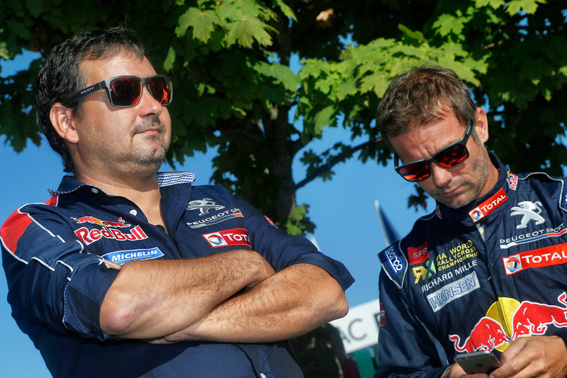 Sébastien Loeb, Team Peugeot Hansen ve Daniel Elena
