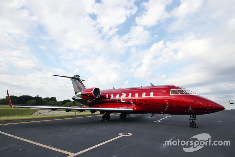 The private jet of Lewis Hamilton, Mercedes AMG F1