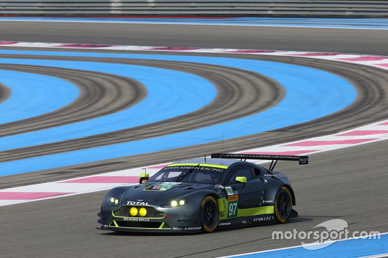 #97 Aston Martin Racing Aston Martin Vantage GTE: Marco Sorensen, Fernando Rees
