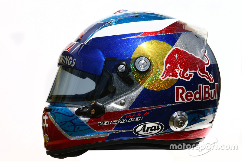 Helm von Max Verstappen, Scuderia Toro Rosso
