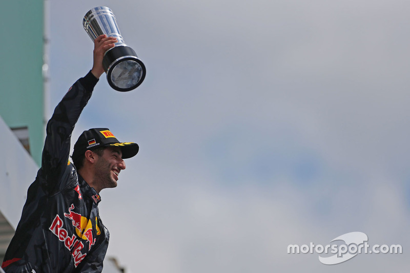 Podium: 2. Daniel Ricciardo, Red Bull Racing