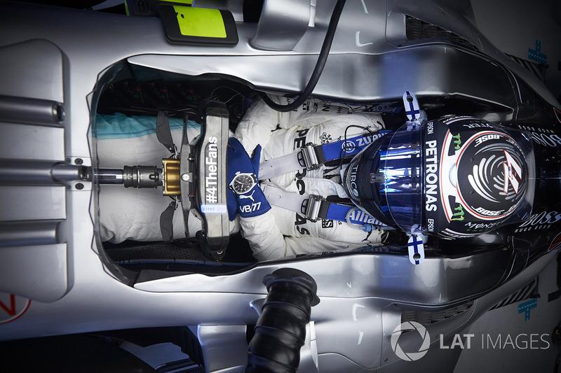 O acidente de Hamilton foi perfeito para Valtteri Bottas