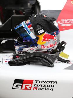 Sébastien Buemi, Toyota Gazon Racing helmet