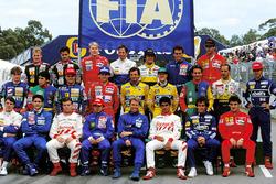 Gruppenfoto: Die Formel-1-Fahrer 1993