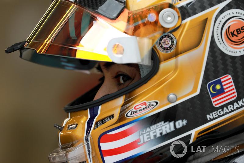 #37 Jackie Chan DC Racing Oreca 07 Gibson: Nabil Jeffri