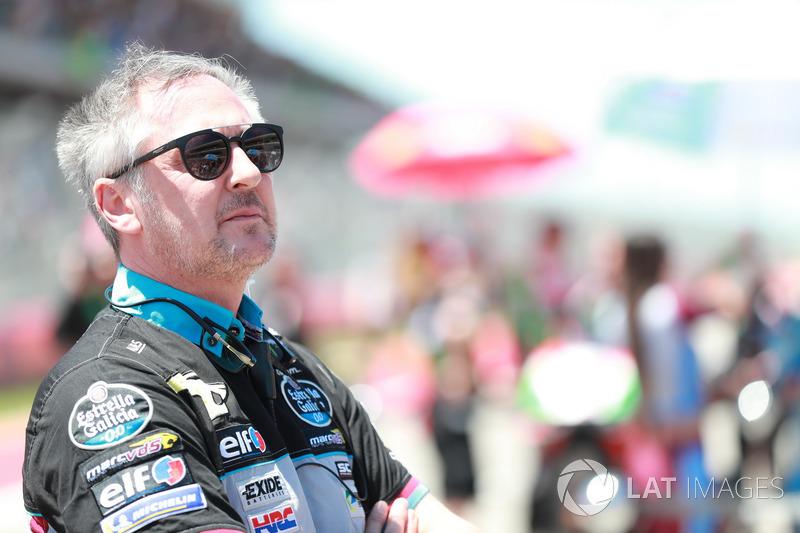 Michael Bartholemy, directeur de l'équipe Estrella Galicia 0,0 Marc VDS