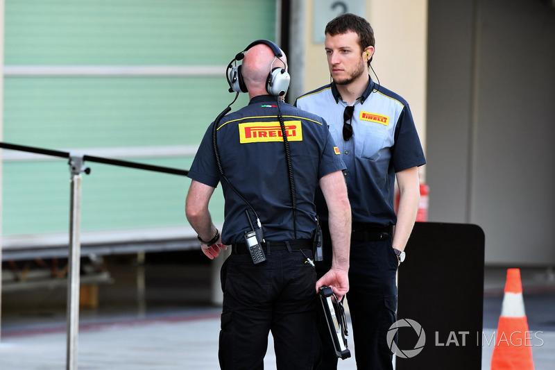 Ingenieros de Pirelli