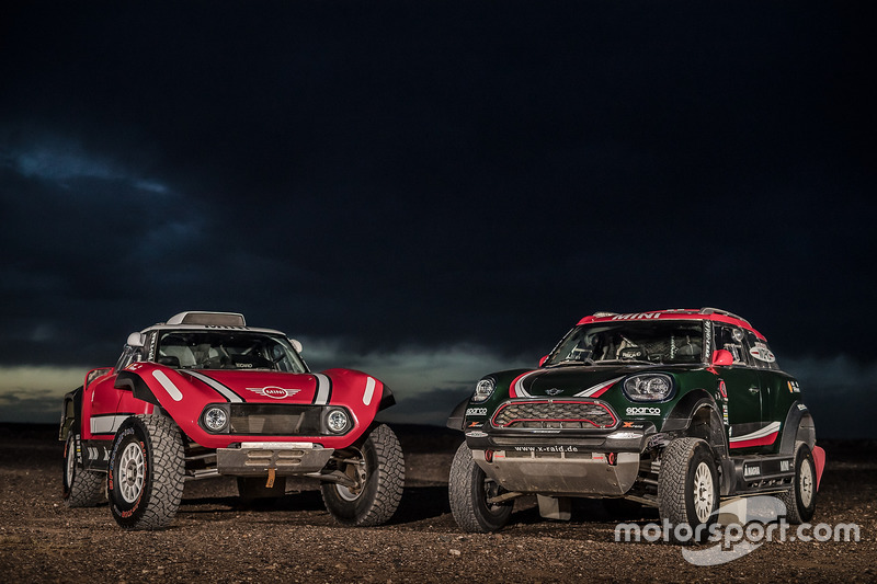 MINI John Cooper Works Rally and MINI John Cooper Works Buggy