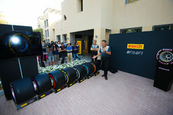 Mario Isola, Pirelli Sporting Director, launches the new tyre compounds for 2018