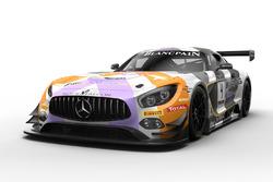 #4 Mercedes-AMG Team BLACK FALCON Mercedes-AMG GT3: Maro Engel, Yelmer Buurman, Luca Stolz