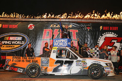 Race winner Chase Briscoe, ThorSport Racing, Ford F-150 Ford