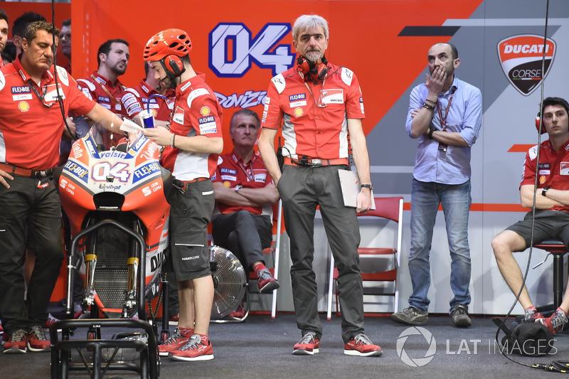 Gigi Dall'Igna, Director General del equipo Ducati