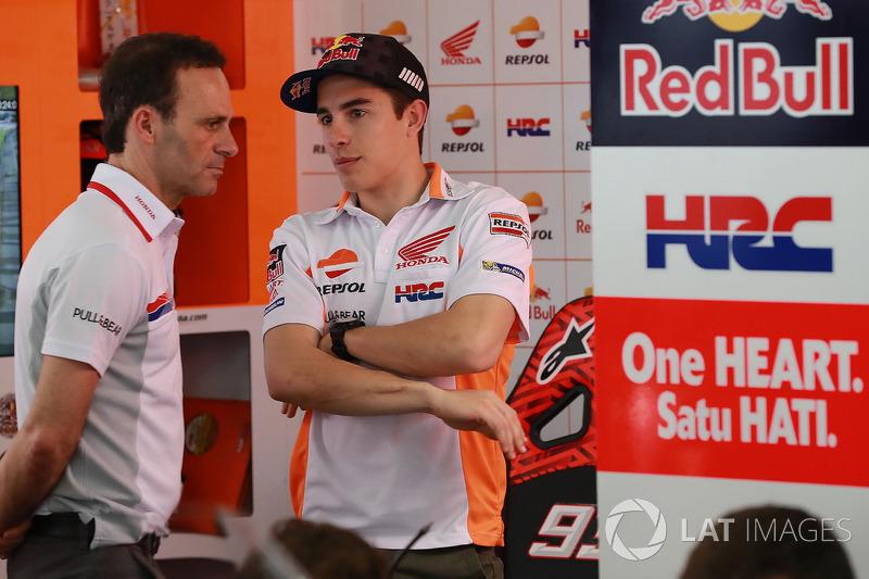 Альберто Пуч, керівник команди, Марк Маркес, Repsol Honda Team