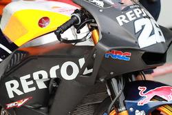 Обтічник на мотоциклі Дані Педроси, Repsol Honda Team